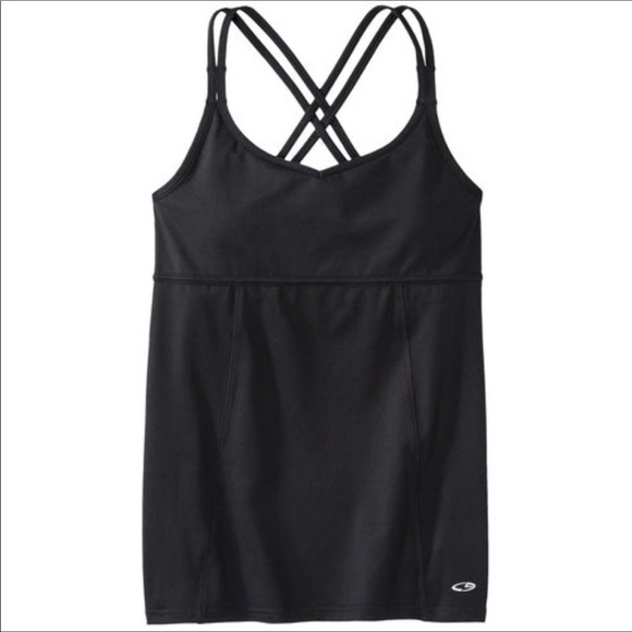 146663d33b Champion Tops - C9 by champion double strap tank top Black with in